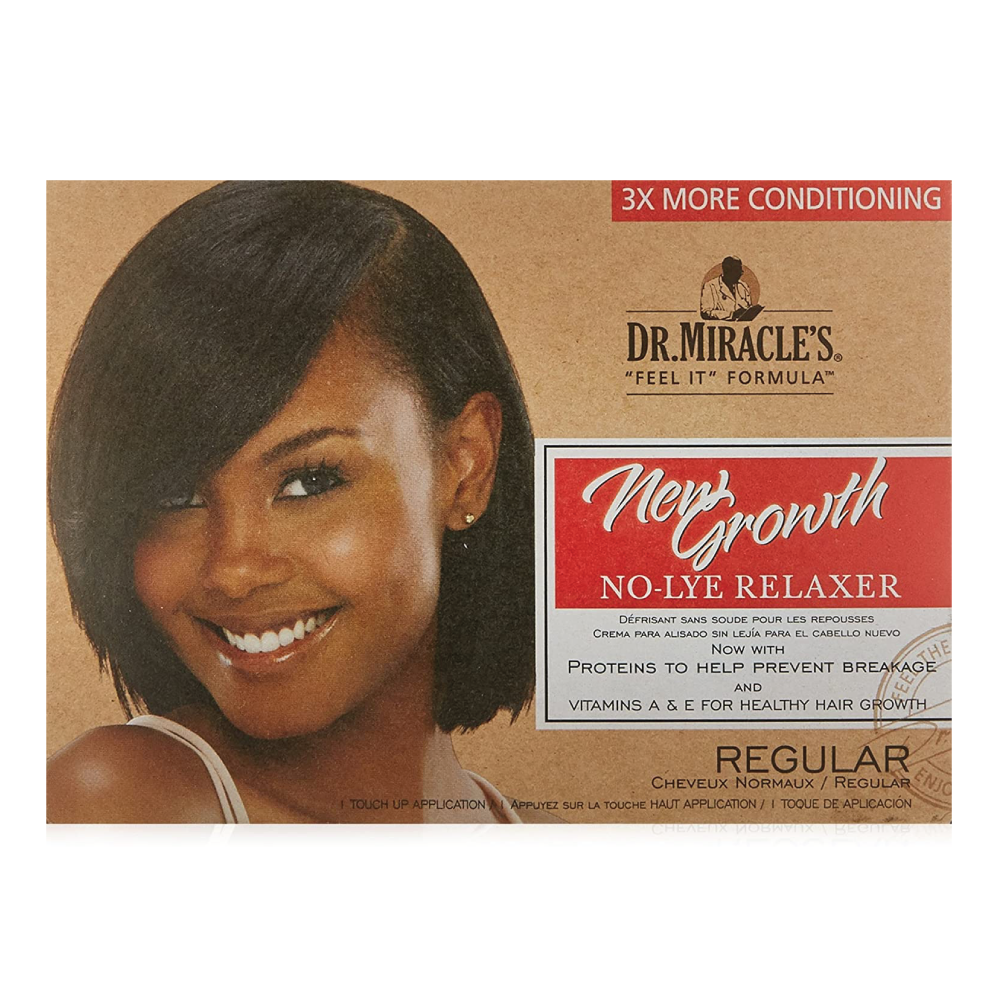Dr.Miracle's New Growth No-Lye Relaxer Kit Regular