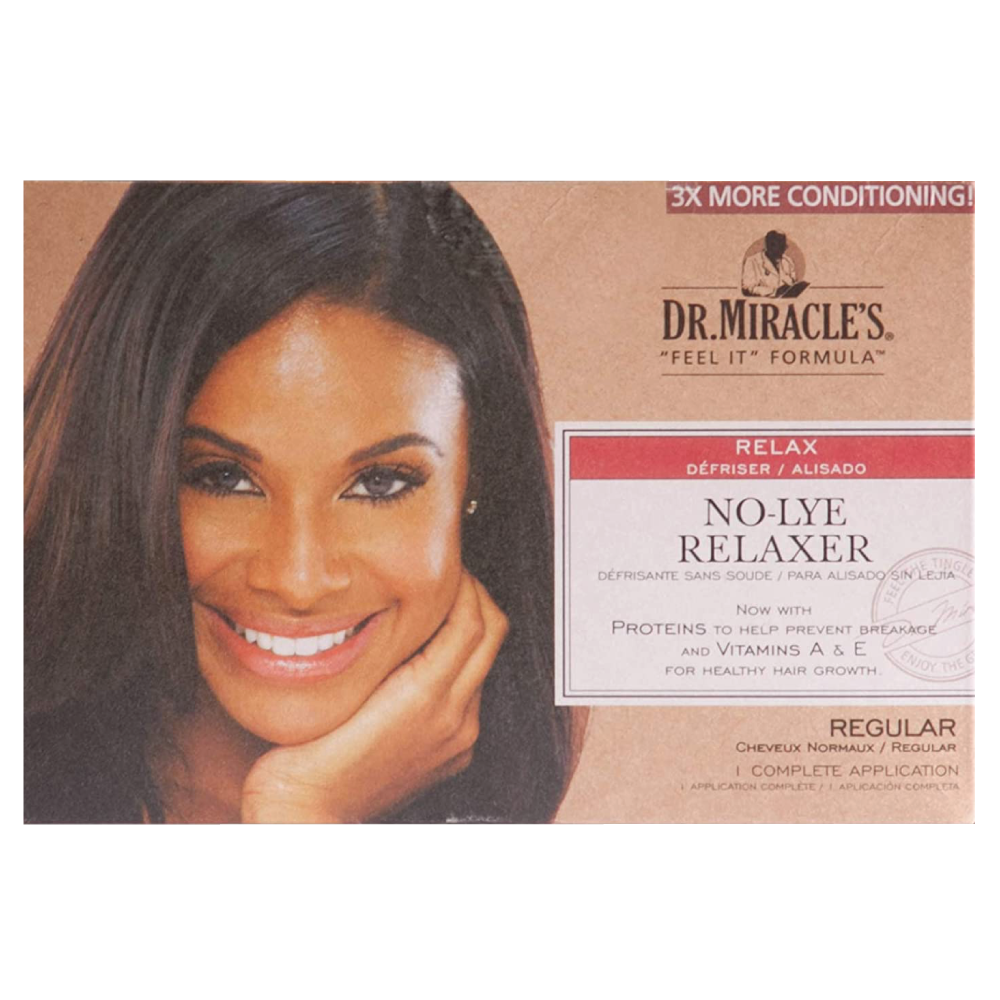 Dr.Miracle's No-Lye Relaxer Kit Regular