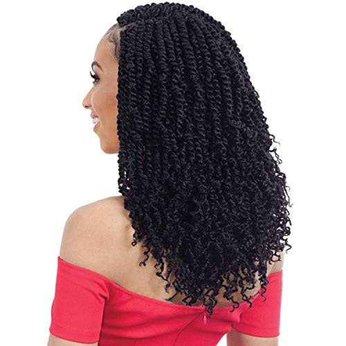 Freetress Crochet Braid 2X Spring Twist 12 Inch