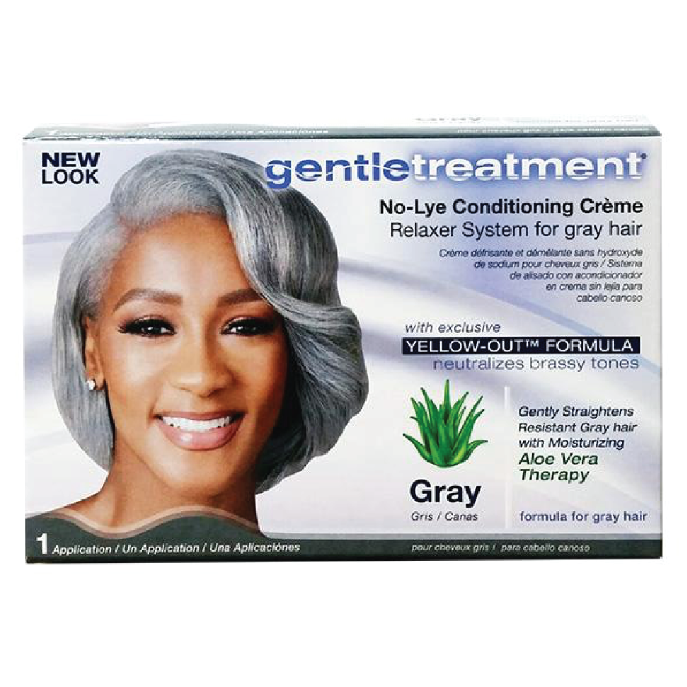 Gentle Treatment No-Lye Relaxer Gray Hair