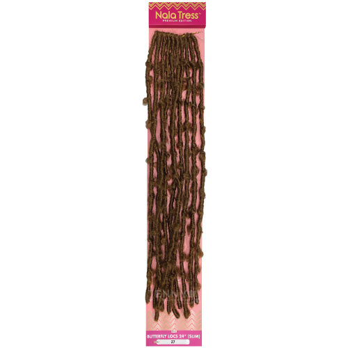 Janet Collection Nala Tress Crochet Braid Butterfly Locs 24 Inch (Slim)