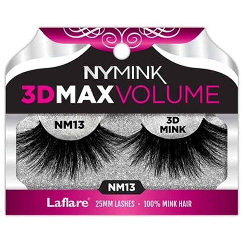 Laflare 3D 25MM 100% Real Mink Lashes #NM13