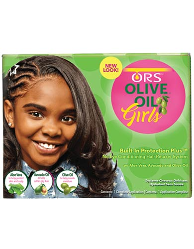 ORS Girls No-Lye Relaxer Kit