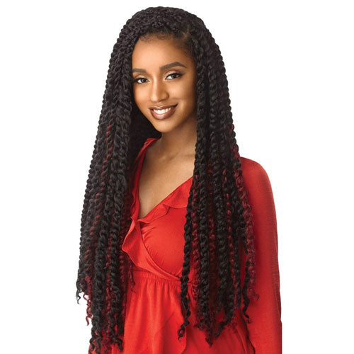 X-Pression Twisted Up Crochet Braid Passion Bohemian Curl 24 Inch