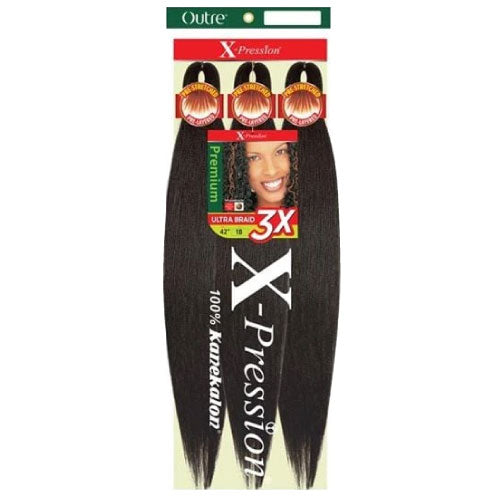 X-pression Ultra Braid 3x Pre-Stretched Braid 52""