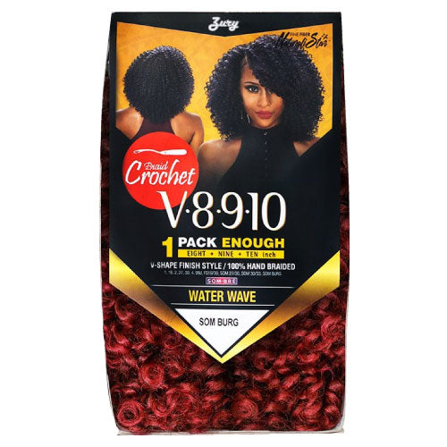 Zury Crochet Braid V8.9.10 (1Pack enough) Water Wave