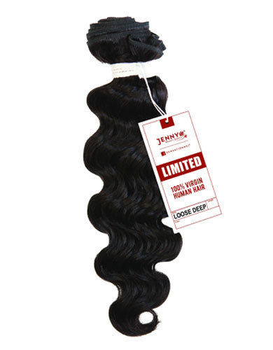 Jenny X Sensationnel Limited 100% Unprocessed Virgin Hair - Loose Deep