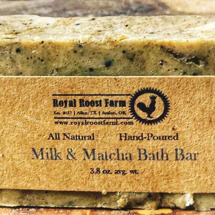 Milk & Matcha Bath Bar