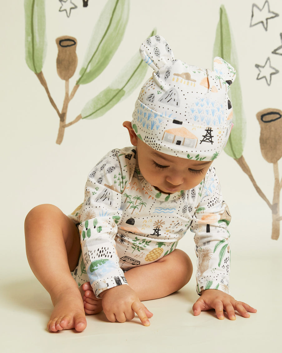 Big Adventures Long Sleeve Bodysuit
