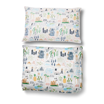 Big Adventures Duvet & Pillowcase