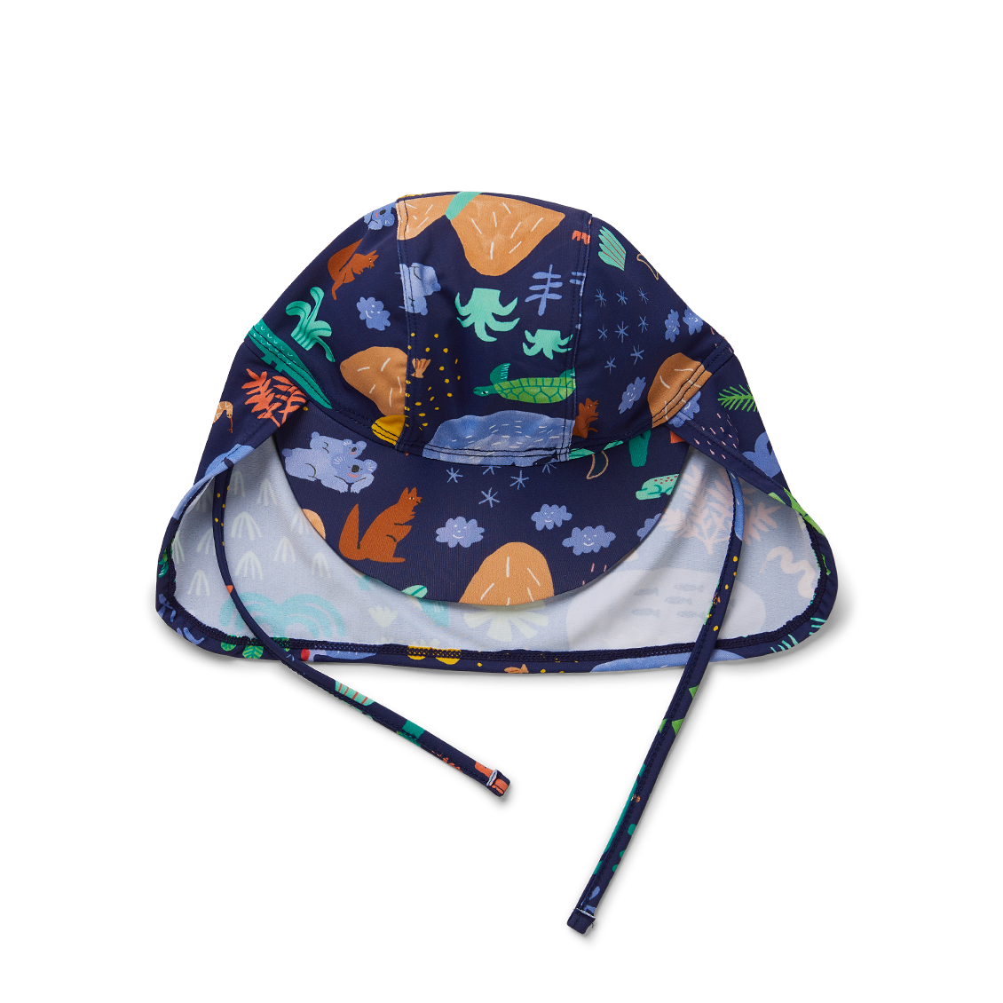 Beach Forest Baby Swim Hat