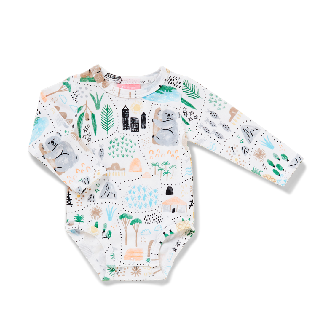 Big Adventures Gift Pack. Long Sleeve Bodysuit & Hat