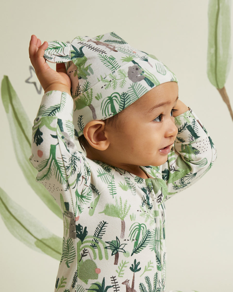 Fern Gully Lunar Baby Hat