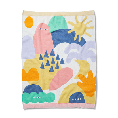 Wonderland Fluffy Knit Blanket