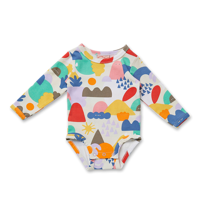 Wonderland Long Sleeve Bodysuit
