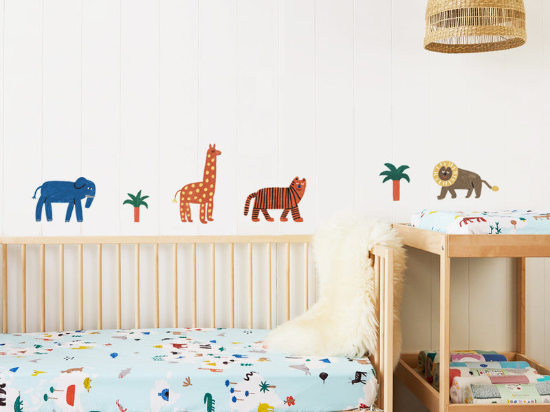 Fabric Wall Decal - Compact Edition - World Of Animals