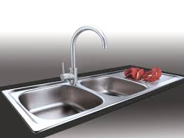 Franke Projectline Double Sink PLN621 - 1160 x 460mm & Katiki Sink Mixer Combo