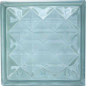 Glass Brick Diamond Large 190x190x80mm (Ea) GBDL190X80
