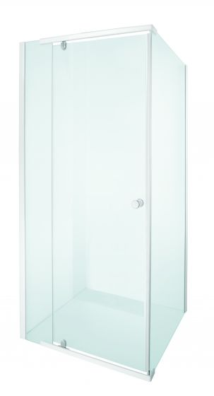 Shower Door Pivot Alpine White 880x880x1850mm 205533