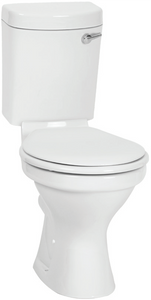 Toilet Suite Anfield Front Flush White incl Seat XTBUBF08A