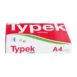 Typek: A4 White Copy Printer Paper - Ream