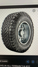 Load image into Gallery viewer, BF Goodrich All Terrain Tyres. 265/65 R17 All Terrain