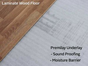 ELF Premilay - Protective Laminated Flooring Underlay - 2mm x 1000mm