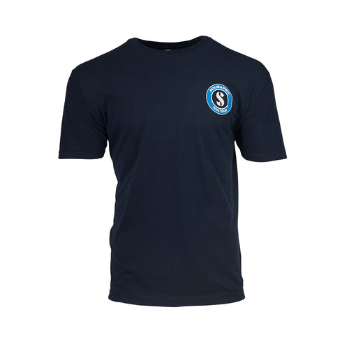 MIDNIGHT NAVY CREW T-SHIRT, MEN