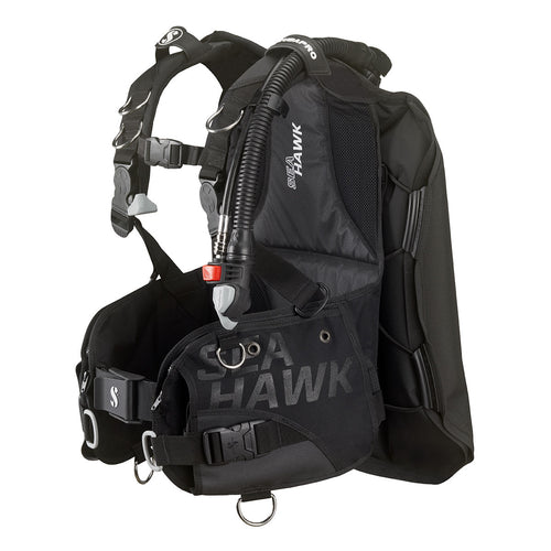 SEAHAWK 2 BUOYANCY COMPENSATOR DEVICE, W/ BALANCED POWER INFLATOR