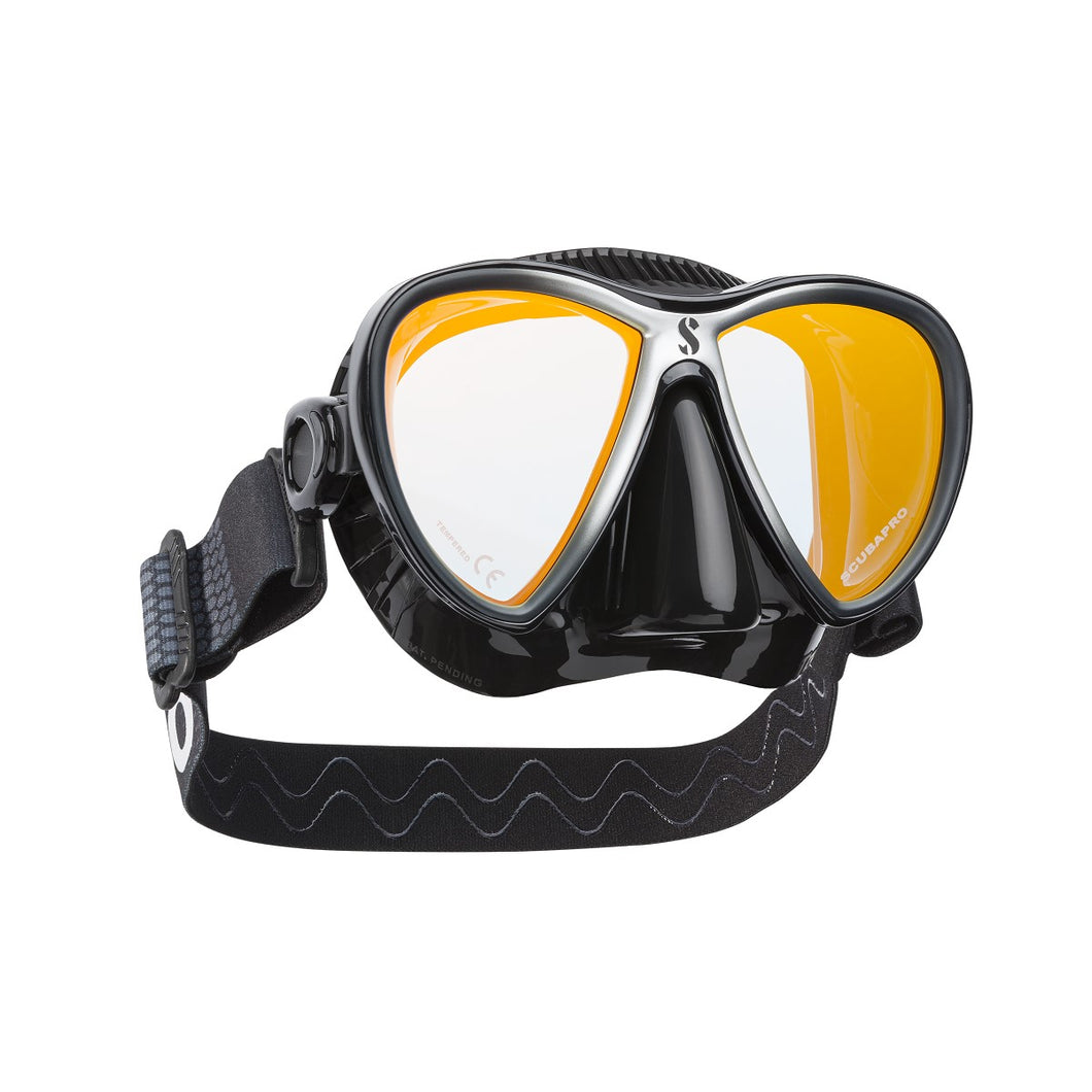 SYNERGY TWIN DIVE MASK W/COMFORT STRAP