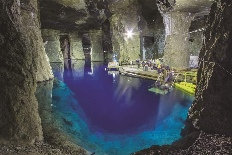 Bonne Terre Mine dive trip with the Scubabros. December 12-13th, 2020