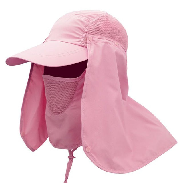 Unisex Sun Protection Hat UV Protection Face Neck Flap Sun Cap Face Man Sun Cap Summer Hat Work Casual Hat Summer - 9020shop