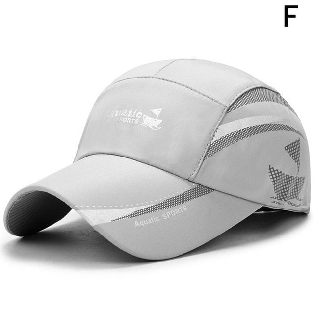 New Waterproof Baseball Cap Summer Outdoor Sport Breathable Caps Fashion Leisure Hat Simple Sunscreen Duck Tongue Hat - 9020shop