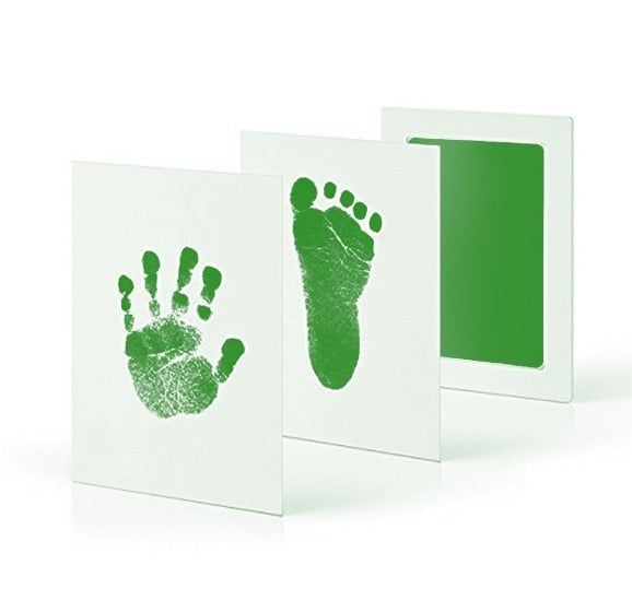 Baby Care Non-Toxic Baby Handprint Footprint Imprint Kit Baby Souvenirs Casting Newborn Footprint Ink Pad Infant Clay Toy Gifts - 9020shop