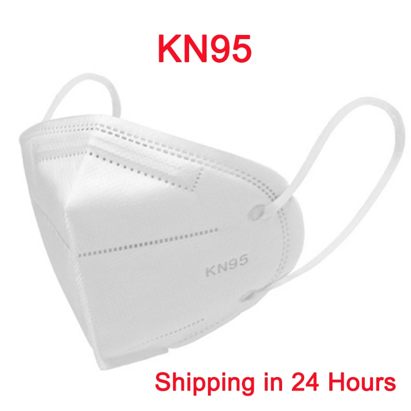 KN95 Protective Mask Face Mouth Mask Non Woven Disposable Anti-COVID-19 Virus Anti-Dust Mask Anti Haze Pollution Face Mouth Mask - 9020shop