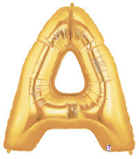 "Letter ""A"" Gold"