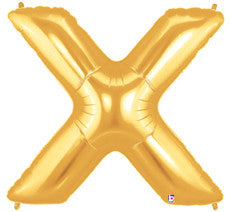 "Letter ""X"" Gold"