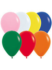 9'' Fashion Assortment Latex Balloons