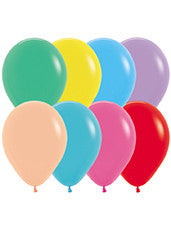11'' Fashion Festive Assortment Latex Balloons