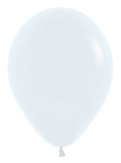 9'' Fashion White Latex Balloons