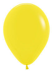 9'' Fashion Yellow Latex Balloons