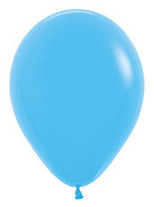 9'' Fashion Blue Latex Balloons