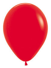 9'' Fashion Red Latex Balloons
