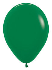 5'' Fashion Forest Green Latex Balloons