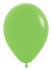 5'' Deluxe Key Lime Latex Balloon