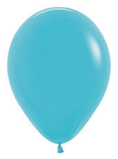 11'' Deluxe Turquoise Blue Latex Balloon