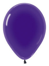 "9"" Crystal Violet Latex Balloon"