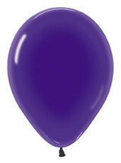 "11"" Crystal Violet Latex Balloon"