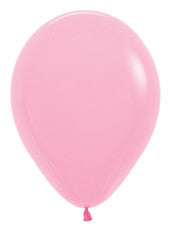 11'' Fashion Bubble Gum Pink Latex Balloons