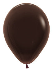 "11"" Deluxe Chocolate Latex Balloon"